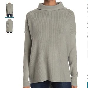 NWT Devotion by Cyrus Cowlneck Ribbed Sweater - M